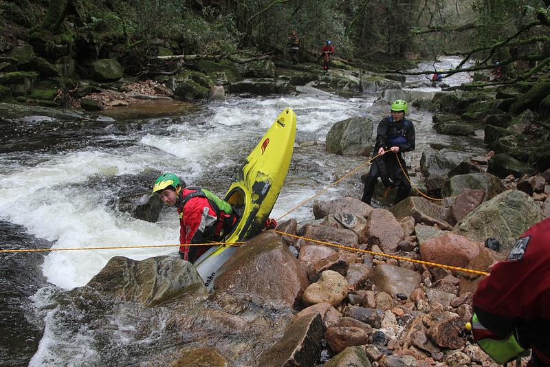BCU kayak training courses