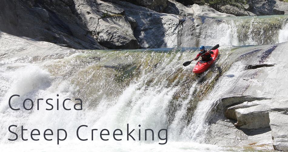 corsica steep creeking